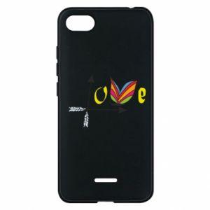 Xiaomi Redmi 6A Case Love Butterfly