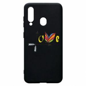 Etui na Samsung A60 Love Butterfly