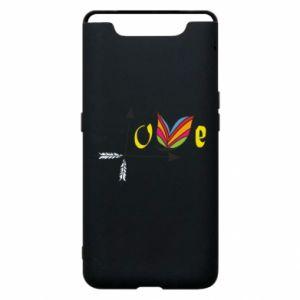 Etui na Samsung A80 Love Butterfly