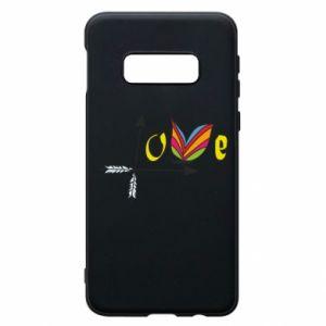 Samsung S10e Case Love Butterfly