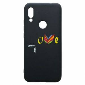 Xiaomi Redmi 7 Case Love Butterfly