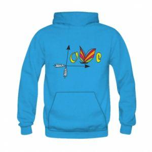 Kid's hoodie Love Butterfly