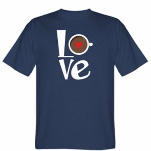 T-shirt Love coffee