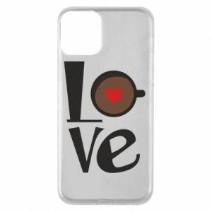 Etui na iPhone 11 Love coffee