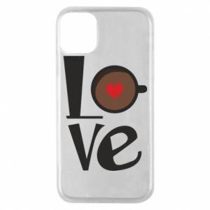 Etui na iPhone 11 Pro Love coffee