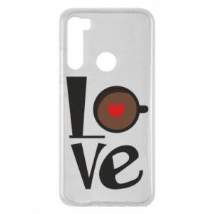 Etui na Xiaomi Redmi Note 8 Love coffee
