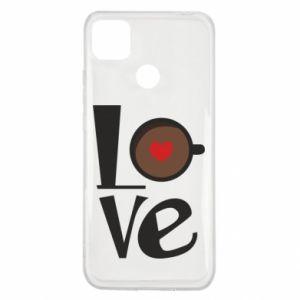 Etui na Xiaomi Redmi 9c Love coffee
