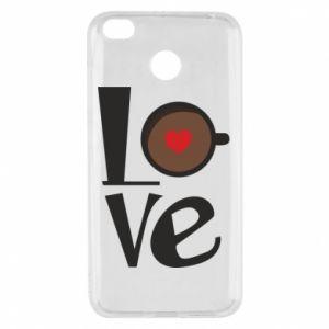 Etui na Xiaomi Redmi 4X Love coffee