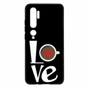 Etui na Xiaomi Mi Note 10 Love coffee