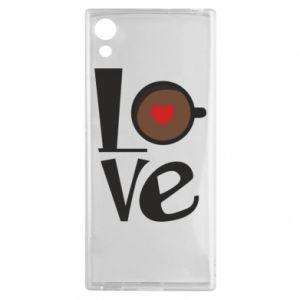 Etui na Sony Xperia XA1 Love coffee