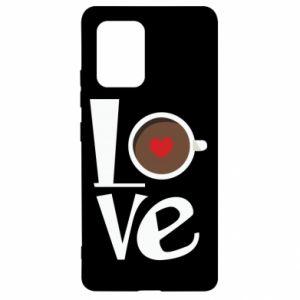 Etui na Samsung S10 Lite Love coffee