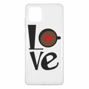 Etui na Samsung Note 10 Lite Love coffee