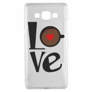 Etui na Samsung A5 2015 Love coffee