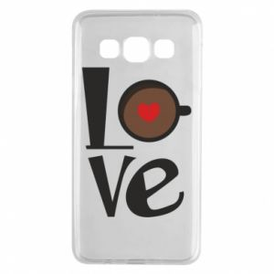 Etui na Samsung A3 2015 Love coffee