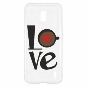 Etui na Nokia 2.2 Love coffee