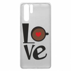 Etui na Huawei P30 Pro Love coffee