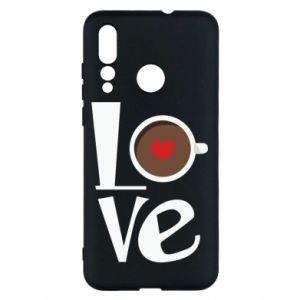 Etui na Huawei Nova 4 Love coffee