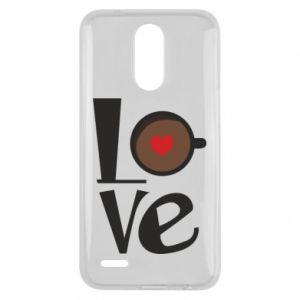 Etui na Lg K10 2017 Love coffee