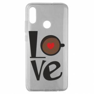 Etui na Huawei Honor 10 Lite Love coffee