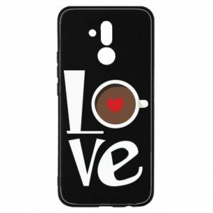 Etui na Huawei Mate 20 Lite Love coffee