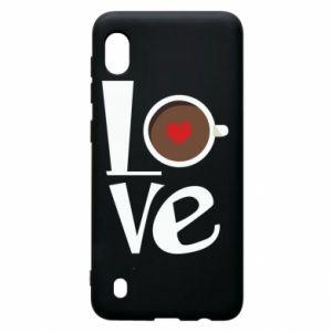 Etui na Samsung A10 Love coffee