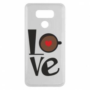 Etui na LG G6 Love coffee