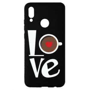 Etui na Huawei P Smart 2019 Love coffee