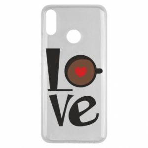 Etui na Huawei Y9 2019 Love coffee