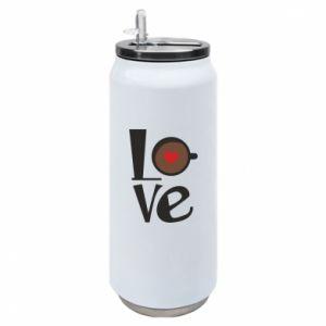 Puszka termiczna Love coffee