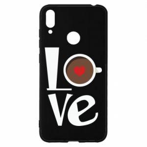 Etui na Huawei Y7 2019 Love coffee