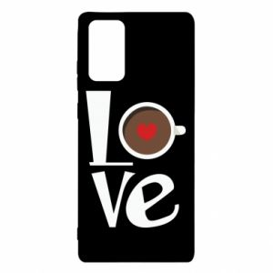Etui na Samsung Note 20 Love coffee