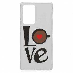 Etui na Samsung Note 20 Ultra Love coffee