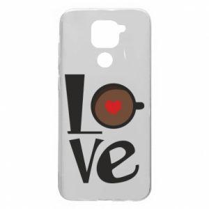 Etui na Xiaomi Redmi Note 9/Redmi 10X Love coffee