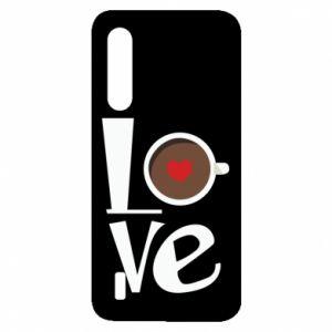Etui na Xiaomi Mi9 Lite Love coffee