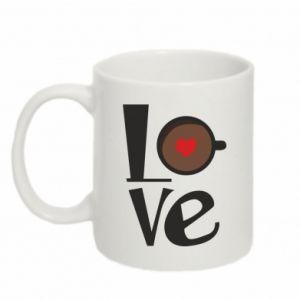Kubek 330ml Love coffee