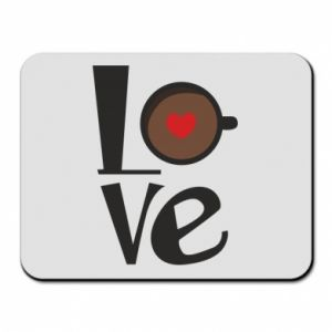 Podkładka pod mysz Love coffee