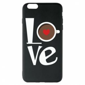 Etui na iPhone 6 Plus/6S Plus Love coffee