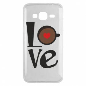 Etui na Samsung J3 2016 Love coffee