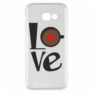 Etui na Samsung A5 2017 Love coffee