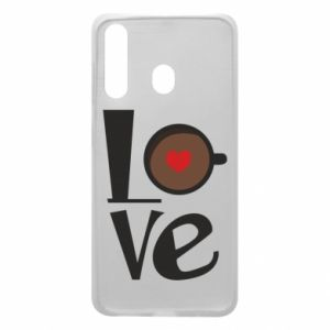 Etui na Samsung A60 Love coffee