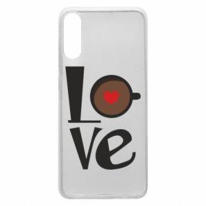 Etui na Samsung A70 Love coffee