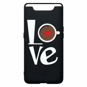 Etui na Samsung A80 Love coffee
