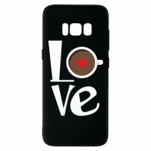 Etui na Samsung S8 Love coffee