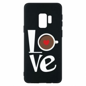 Etui na Samsung S9 Love coffee