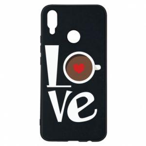 Etui na Huawei P Smart Plus Love coffee