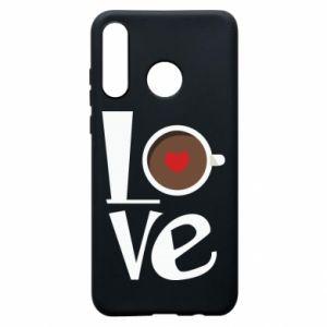 Etui na Huawei P30 Lite Love coffee