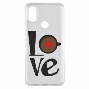 Etui na Xiaomi Mi A2 Love coffee