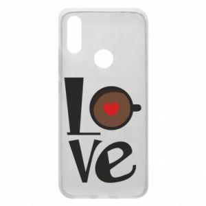 Etui na Xiaomi Redmi 7 Love coffee
