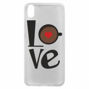Etui na Xiaomi Redmi 7A Love coffee