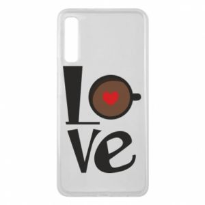 Etui na Samsung A7 2018 Love coffee